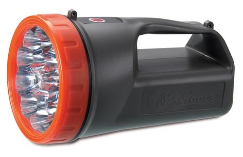RECHARGEABLE FLASHLIGHT W/ PLUG CORD 15 LED