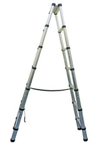 Kyk Telescopic Ladder Double