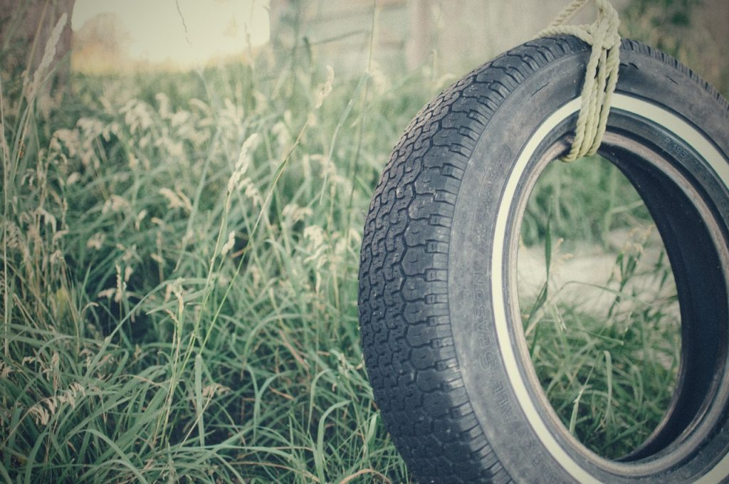 A Tire Swing