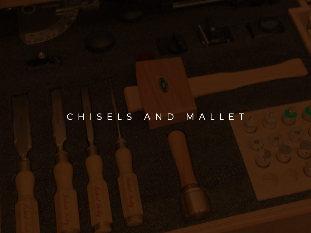 Chisels and Mallet
