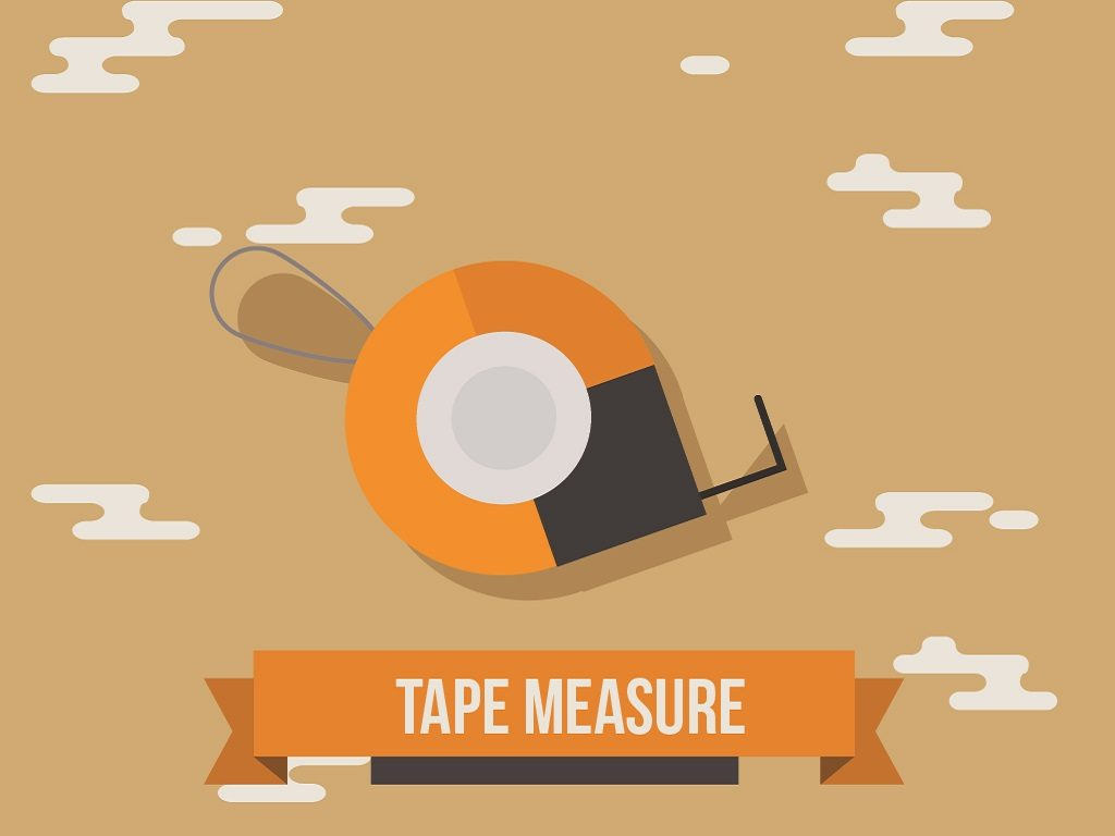 measuring tools tape measure