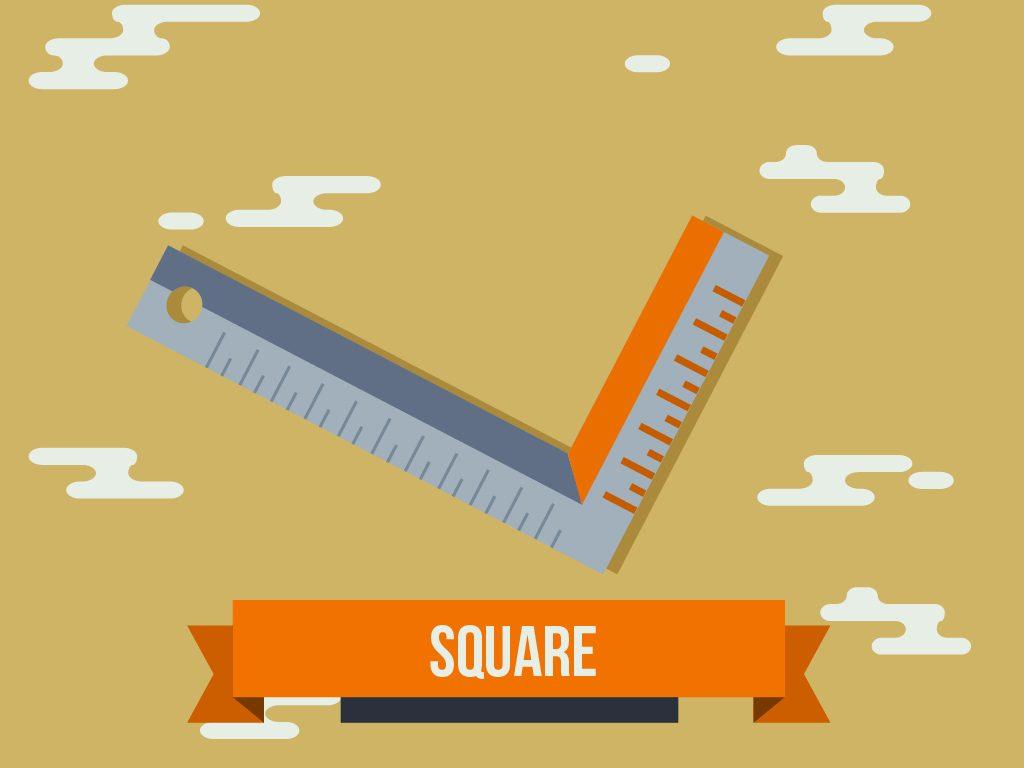 square measuring tools