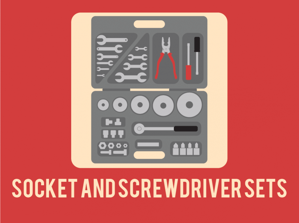 Socket and Screwdriver Sets