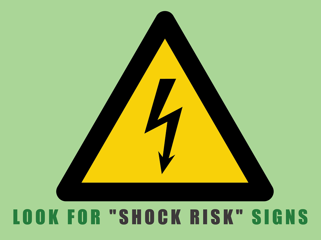 look for shcok risk signs